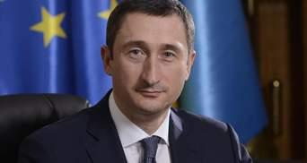 Перед приїздом міністра Чернишова в Миколаєві підмітали калюжі: фото і відео