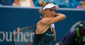 Зіркова українська тенісистка раптово знялася з першого турніру WTA після паузи
