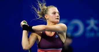 Украинка Ястремская драматично вышла в 1/8 финала турнира в Италии: видео