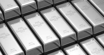 Серебро подорожало на 34% в июле: чего ждать дальше