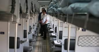 Напади в поїздах: третина вагонів Укрзалізниці обладнана відеокамерами