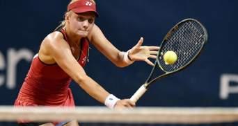 Ястремская легко взяла реванш у Доден и вышла в 1/4 финала турнира в Палермо видео