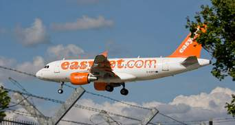 Лоукостер easyJet будет летать из Италии в Украину