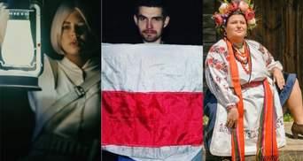 Знаменитости, которые поддержали или осудили протесты в Беларуси