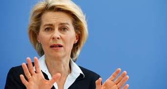Президентка Еврокомиссии требует ввести санкции против Беларуси