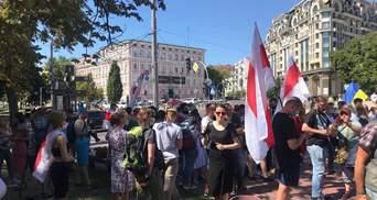 Марш за вільну Білорусь: у Києві проходить чергова акція солідарності – відео, фото
