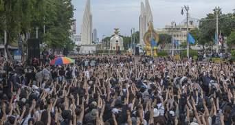 """""""Такого ще не бачили"""": у Таїланді люди влаштували масштабний мітинг за демократію"""
