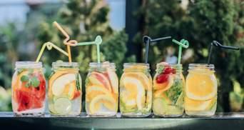 Які напої найкраще втамовують спрагу: спойлер – не вода