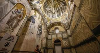 Эрдоган превратил в мечеть еще один византийский храм в Турции
