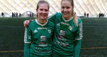 В Финляндии девушка-футболистка забила невероятный гол: видео