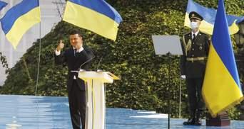 Попурі на День Незалежності: у Зеленського опублікували відео без порушення авторських прав