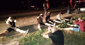 Кровавая стрельба под Харьковом: нападавших нашли и задержали – фото, відео