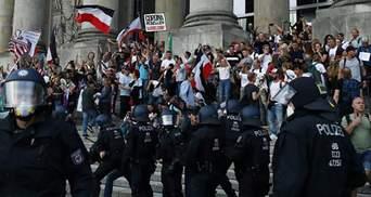 """Штурм Рейхстагу в Берліні: німецькі високопосадовці різко засудили дії """"коронаскептиків"""""""