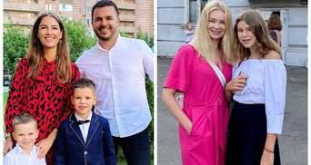 Тарас Тополя, Лидия Таран и Григорий Решетник: украинские звезды ведут детей в школу – фото
