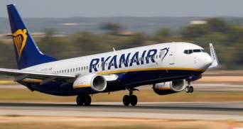 Ryanair скасував майже всі рейси в Україну в другій половині вересня: з чим це пов'язано