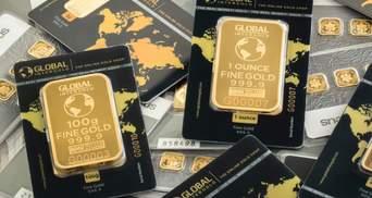 Золото впевнено дорожчає: як падіння долара у вересні посилило позиції дорогоцінного металу