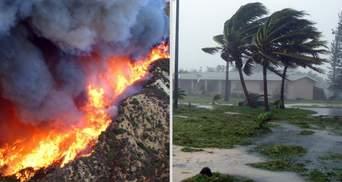 Вогонь, вода і вітер: як зміна клімату створює хаос у США