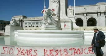 В США предложили снести памятники Вашингтону и Колумбу: Белый дом – решительно против