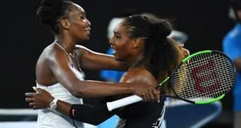 Легендарные сестры Уильямс установили рекорды на US Open