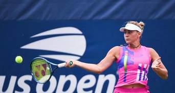 Костюк сенсаційно перемогла Севастову та вперше в кар'єрі вийшла у третій раунд US Open: відео