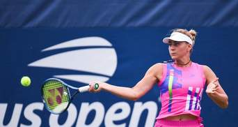 Костюк сенсационно победила Севастову и впервые в карьере вышла в третий раунд US Open: видео