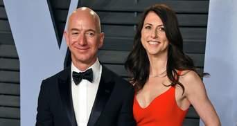 Колишня дружина засновника Amazon Безоса Маккензі Скотт стала найбагатшою жінкою світу