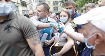 Мера Дніпра Бориса Філатова облили зеленкою: фото