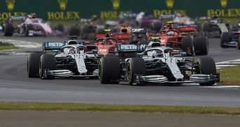 Формула-1: Хемілтон у боротьбі з Боттасом взяв поул гран-прі Італії