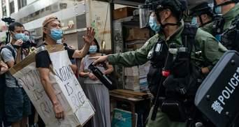 Во время протестов в Гонконге задержали более 300 человек: полиция применила слезоточивый газ
