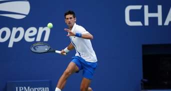 За что дисквалифицировали Новака Джоковича на US Open: полное видео эпизода