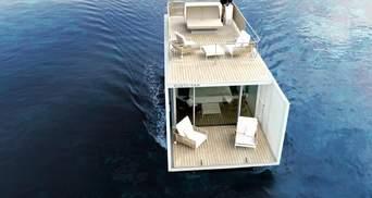 Номер посеред моря: в Іспанії відкрили готель на воді лише для двох осіб – фото