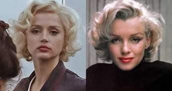 Ана де Армас ошеломила сходством с Мэрилин Монро: первые фото нового фильма