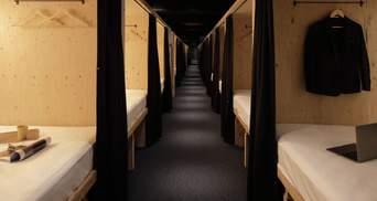 Купейні місця в центрі Хіросіми: в Японії відкрили готель з мініатюрними номерами – фото