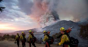 Пожар в Калифорнии: вертолетом удалось эвакуировать 200 человек – фото, видео