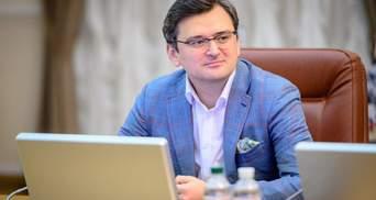 Кулеба прокомментировал визит белорусов Родненкова и Кравцова в Украину
