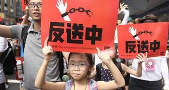 Протести в Гонконгу: поліцейські затримали 12-річну дівчинку