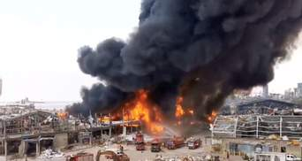 У Бейруті знову горить порт: влада розглядає версію підпалу – фото й відео пожежі
