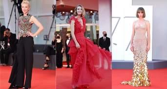 Найрозкішніші образи зірок на Венеційському кінофестивалі: фото