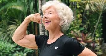 Донька мотивувала 74-річну маму стати фітнес-моделлю: результат її схуднення підкорив мережу