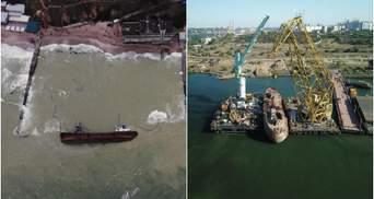 Какой ущерб нанесли утечки нефти с танкера Delfi: известна окончательная сумма