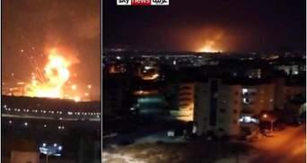 Мощный взрыв прогремел на военном складе в Иордании, есть погибшие: видео