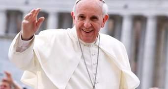 Папа Римський: секс та їжа – це задоволення, надіслані Богом