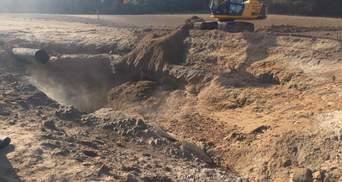 Взрыв на газопроводе в Чабанах: фото, видео