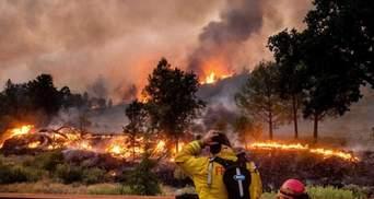 Дим від пожеж у США досяг Європи