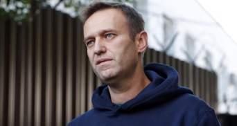 """Сліди """"Новачка"""" виявили на пляшці з готельного номера у Томську, – пресслужба Навального"""
