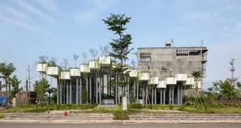 """""""Клавішний"""" дах та зелень: у В'єтнамі будівельна компанія створила незвичний офіс – фото"""