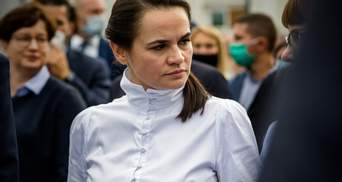 """Тихановская создала страницу в Instagram и назвала ее """"Президент Света"""": первые фото"""