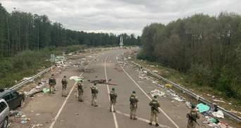 Все вокруг в мусоре: что осталось после хасидов на белорусско-украинской границе – фото