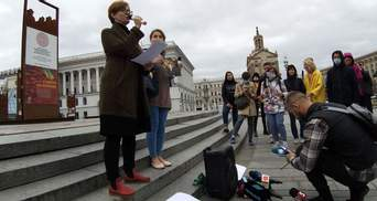 Вшанування Гонгадзе: в Києві відбулась акція пам'яті загиблих журналістів – фото