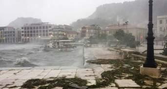 Шторм Янос наніс удар по Греції: фото, відео стихійного лиха